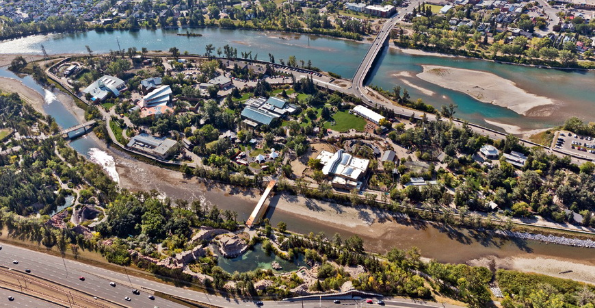 Calgary Zoo Flood Mitigation Project