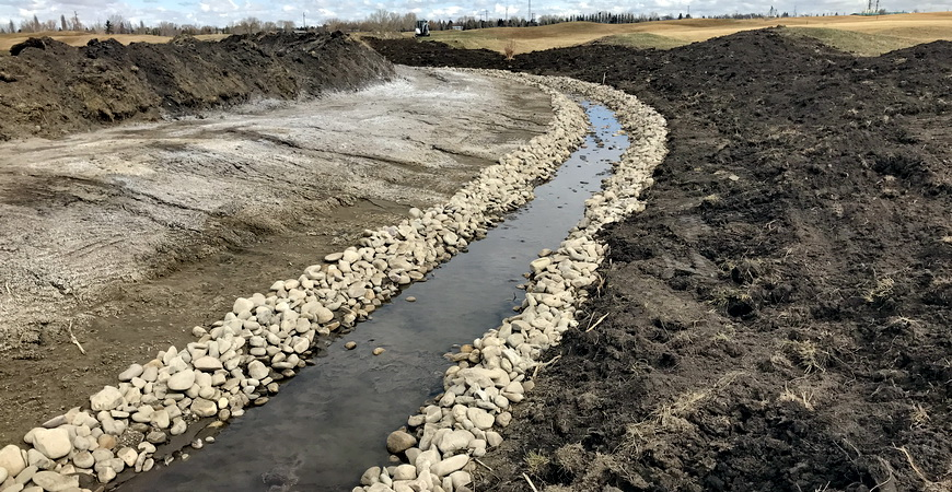 Claresholm stormwater management