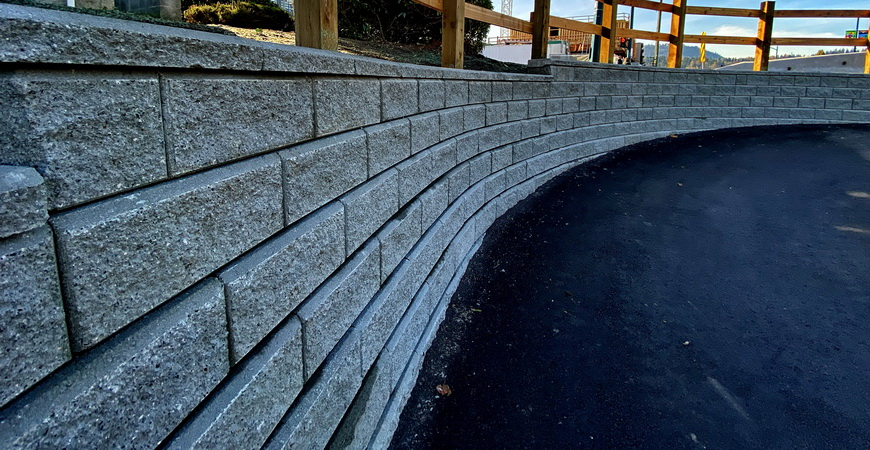 Port Moody Retaining Wall