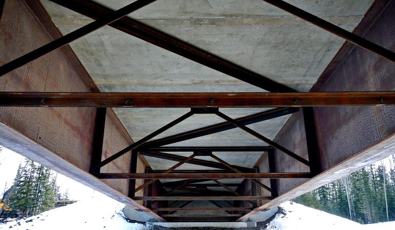 Agnico Eagle Heavy Haul Bridge