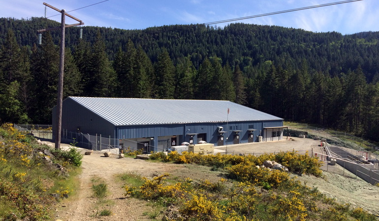 Exterior of Water Treatment Plant