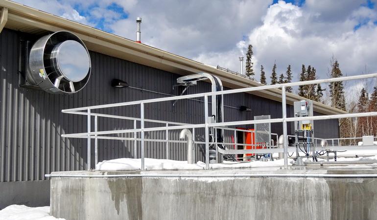 Denare Beach Wastewater Treatment Plant