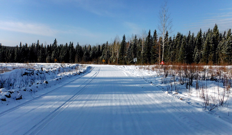 Fort Chipewyan Winter Road