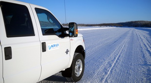 Ice Engineering and Ice Safety for Tibbitt-Contwoyto Winter Road