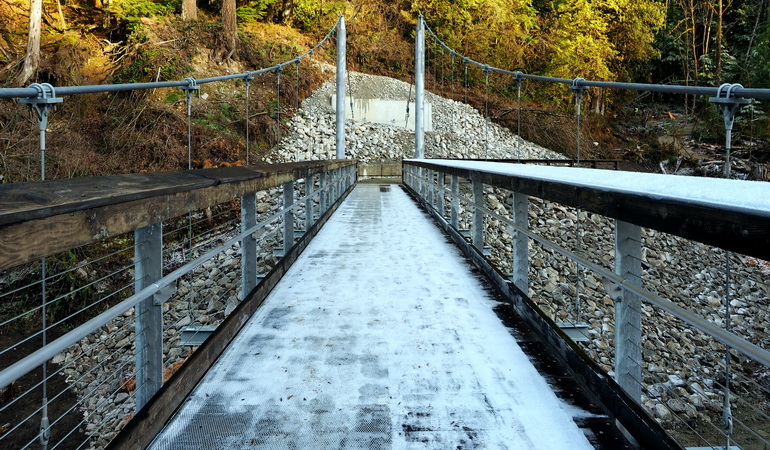 Seymour Suspension Bridge