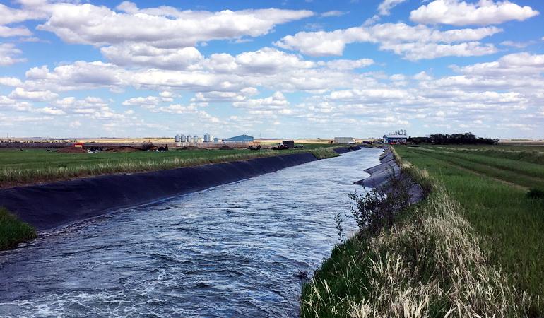 Saskatoon South East Water Supply System Canal Rehabilitation