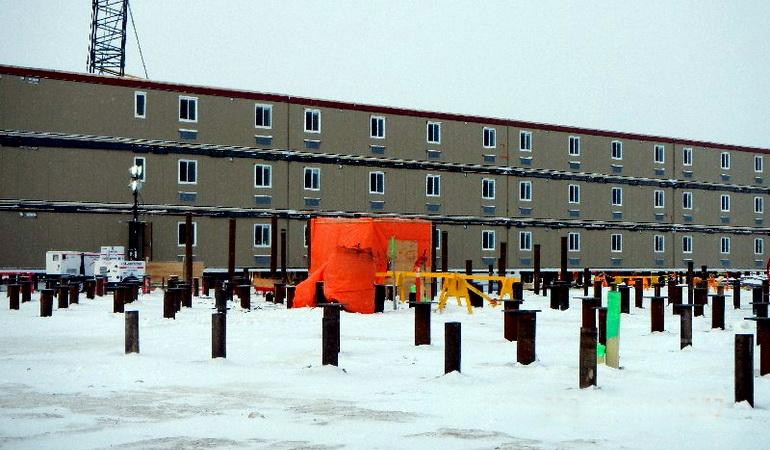 Manitoba Hydro Keeyask Camp