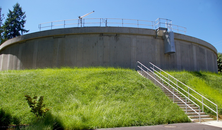 Nanaimo Reservoir No. 1 and Energy Recovery Facility