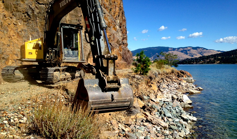 Okanagan Rail Corridor Ballast Testing and ESA Reviews