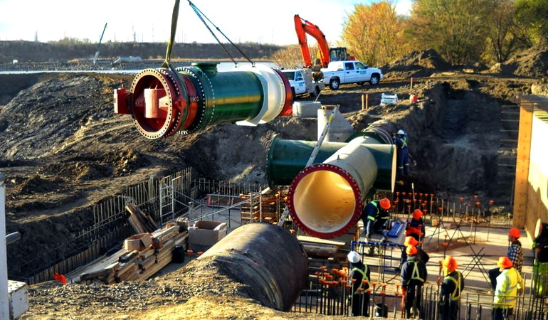 Raw Water Supply – Pipeline River Crossing