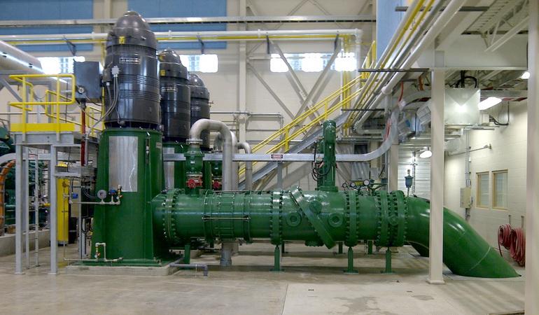 Saskatoon Raw Water Intake and Pump Station