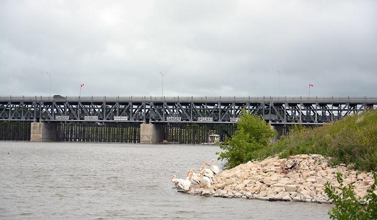 St. Andrews Lock and Dam 4