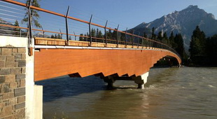 Bow River Pedestrian Bridge and Utility Crossing
