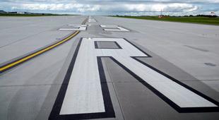 Calgary Airport Runway